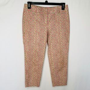 LOFT Riviera Cropped Pants Sz 6P